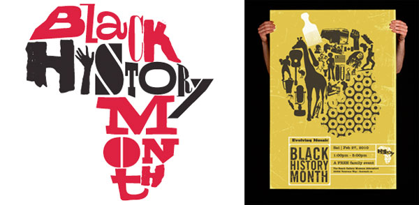 2013 annual Black History Month search for creative design