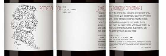 Award-Winning Wine Label