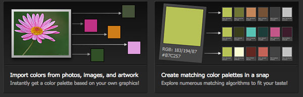 Toolbox for working with color palettes