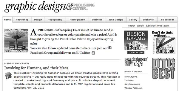 May color month in DTG Magazine