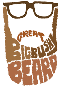 Bushy Beard negative space
