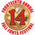 September is Fall Fonts Festival