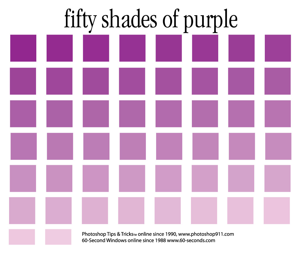 The Adobe Ilrator File For 50 Shades Of Purple Fifty Ai